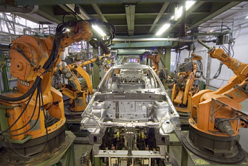 Slovenia 7th in the world in use of robots in car industry